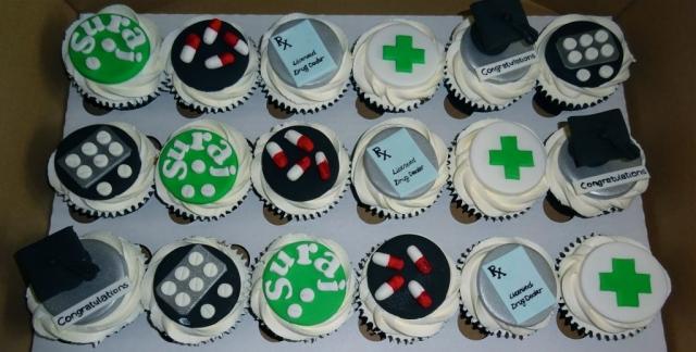 """Pharmaceutical Cupcakes"""