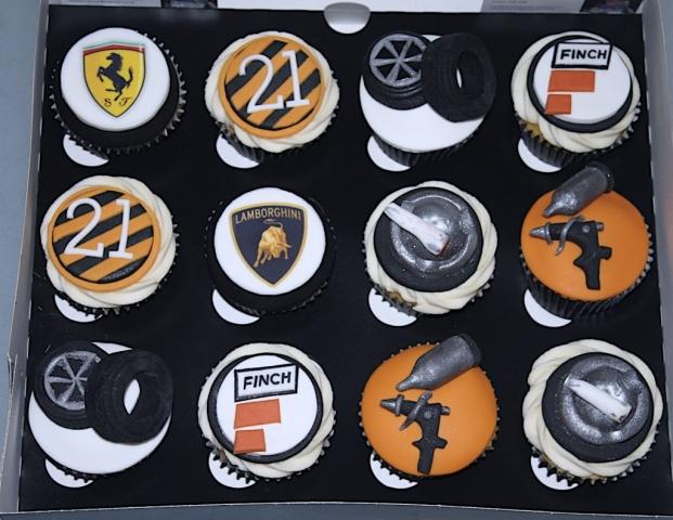 """Mechanic Cupcakes"""