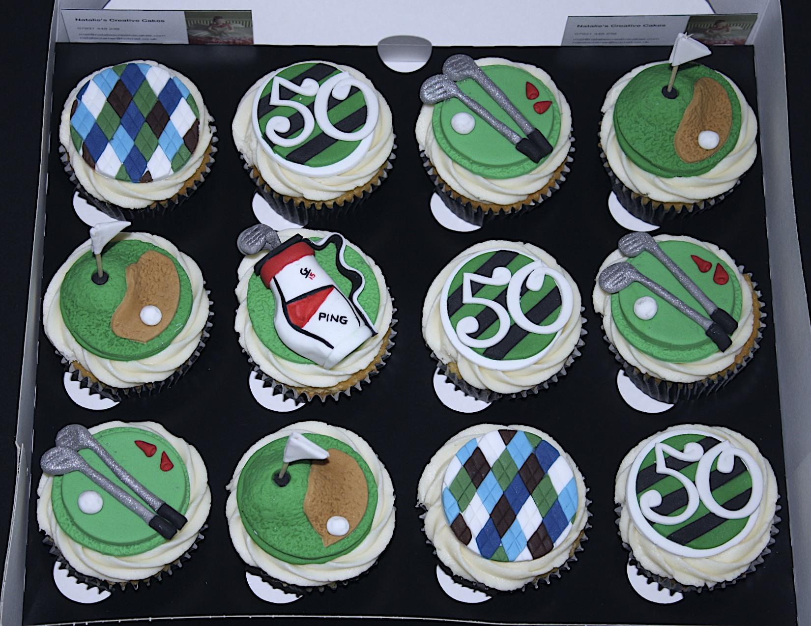 """Golfing Cupcakes"""