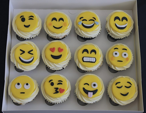 """Emoji Cupcakes"""