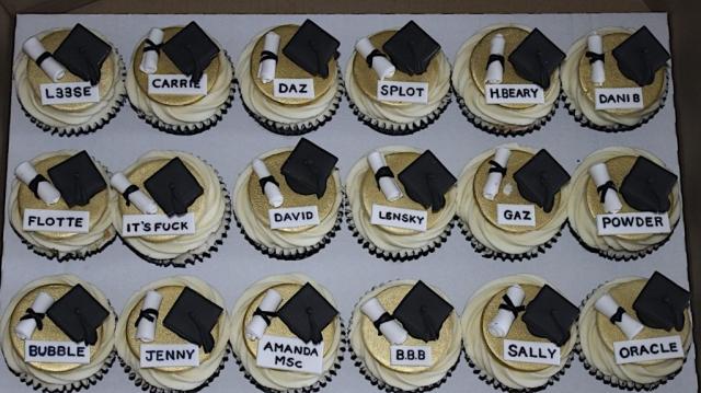 """Graduation Cupcakes"""
