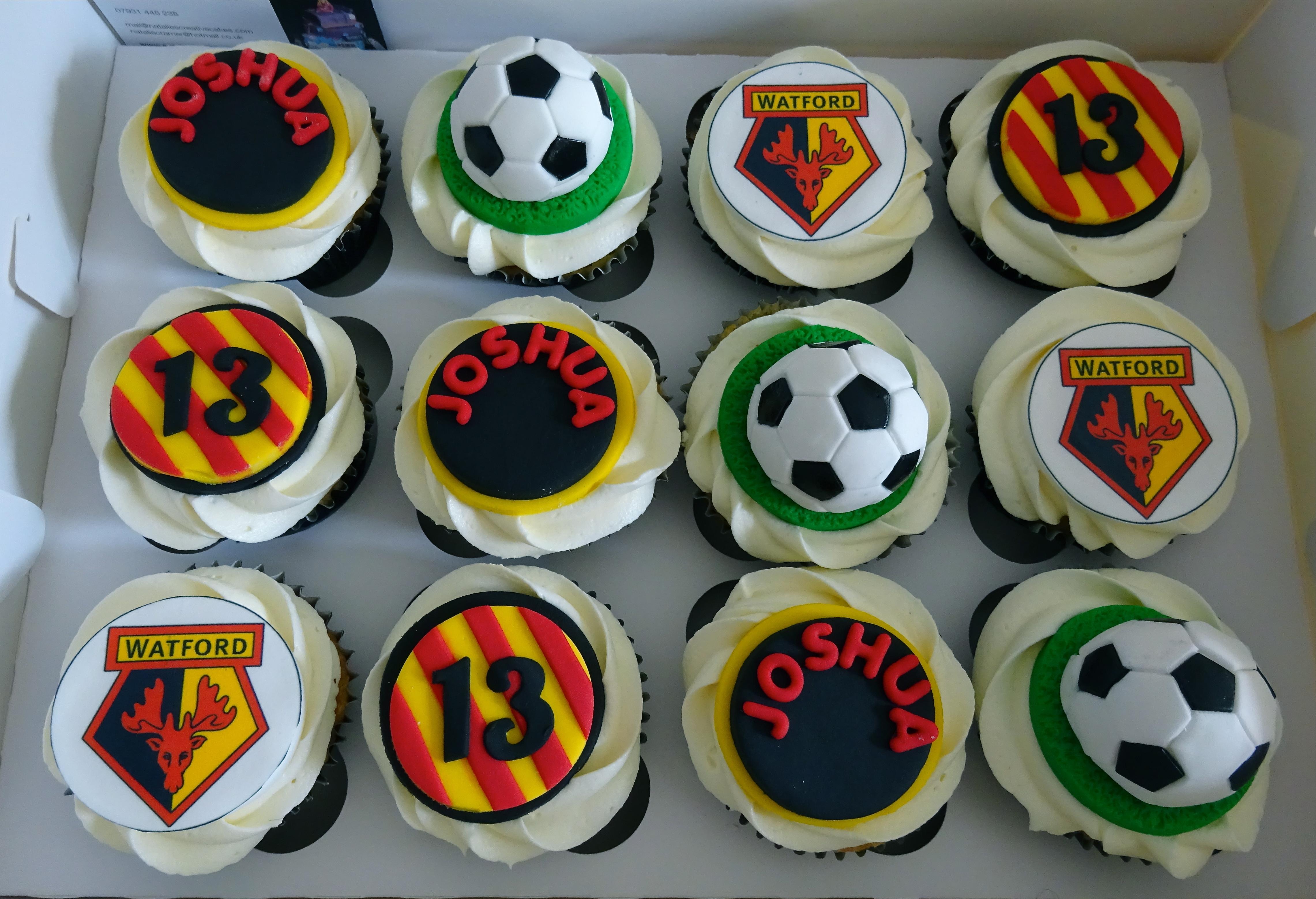 """""""Watford Football Cupcakes"""""""