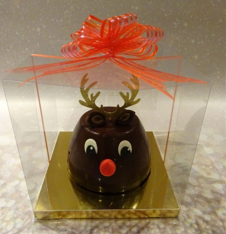 """Reindeer Chocolate Biscuit Cake"""