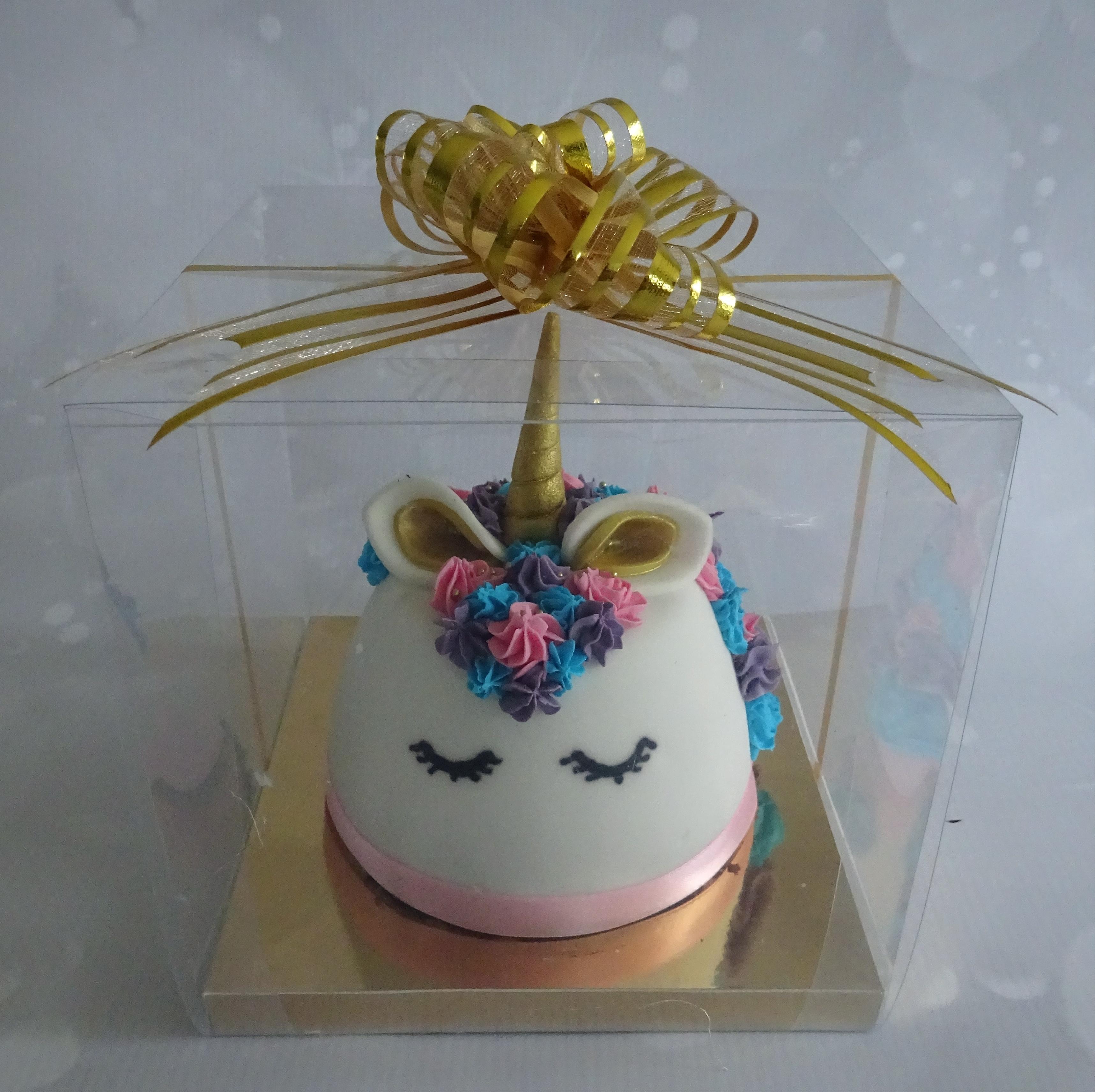 """Unicorn Chocolate Biscuit Cake"""